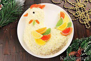 Новогодний торт Петух