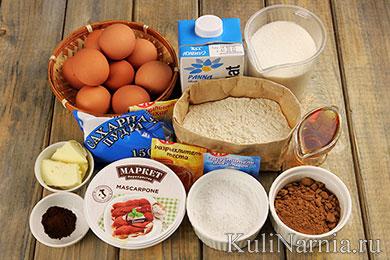 Торт Тирамису рецепт с фото