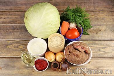 Голубцы рецепт пошагово с фото