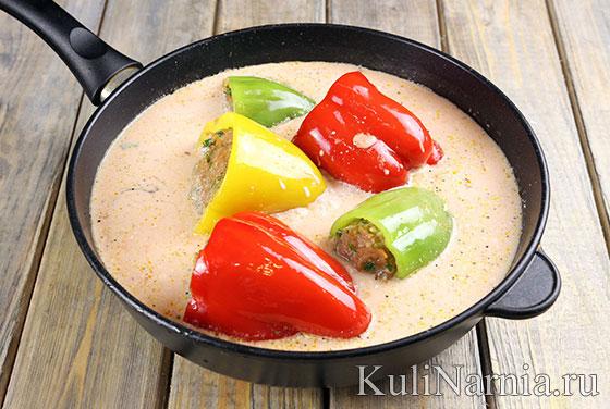 Как готовить фаршированные перцы