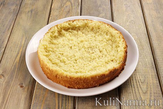 Как приготовить бисквитный пирог
