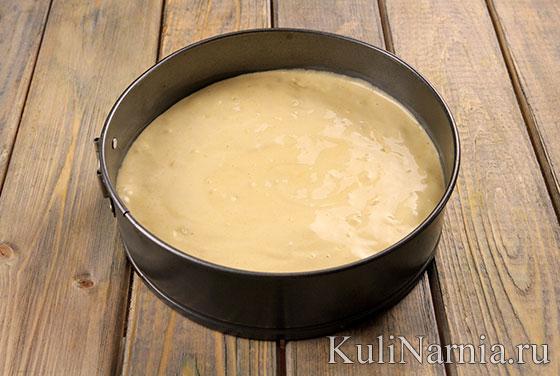 Рецепт бисквитного пирога с фото