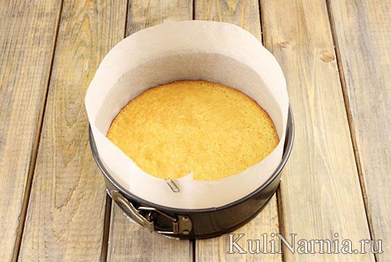Рецепт йогуртового торта