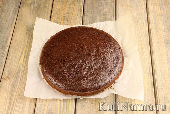 Бисквит для торта Три шоколада
