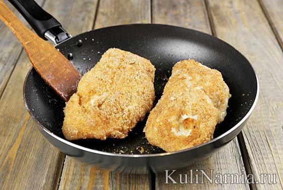 Кармашки из куриного филе рецепт