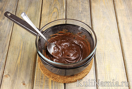 Муссовый торт Три шоколада рецепт