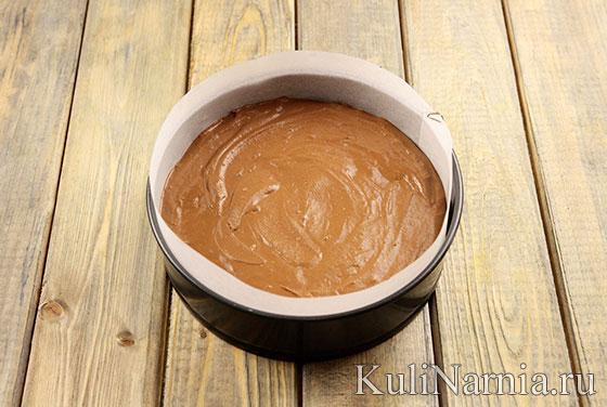 Рецепт муссового торта Три шоколада