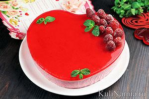 Торт Сердце своими руками