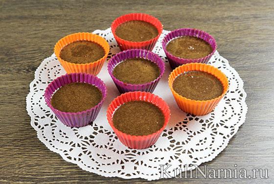 Как испечь шоколадный фондан