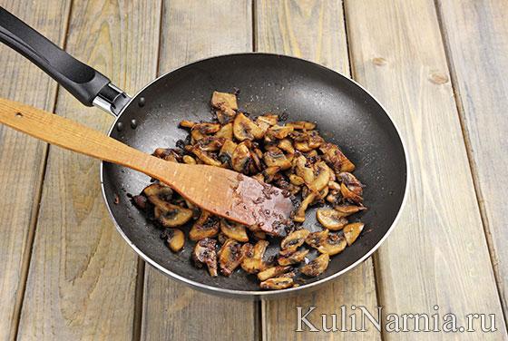 Кальмары фаршированные грибами рецепт
