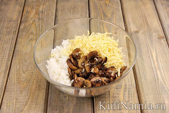 Кальмары фаршированные рисом рецепт