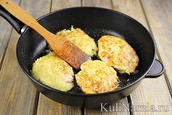 Отбивные в картофельном кляре