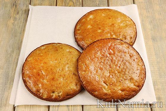 Коржи для торта Колибри