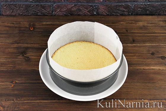 Бисквит для йогуртового торта