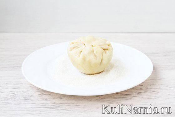 Как делать булочки с яблоками