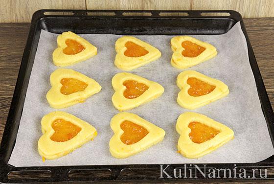 Как приготовить печенье с повидлом