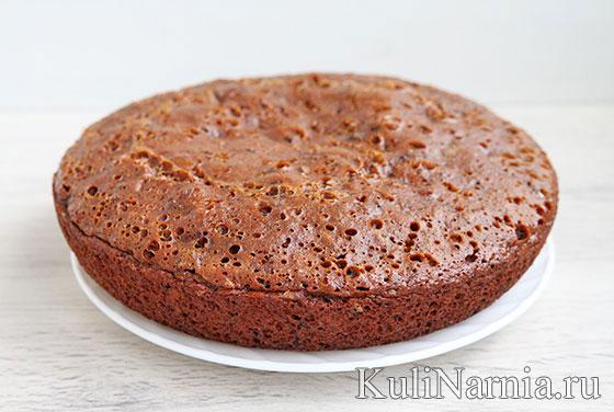 Медовый пирог в духовке