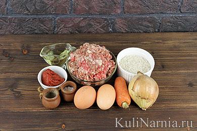 Мясные ежики с рисом рецепт в духовке