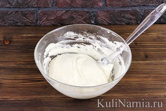 Рецепт творожно-йогуртового торта пошагово