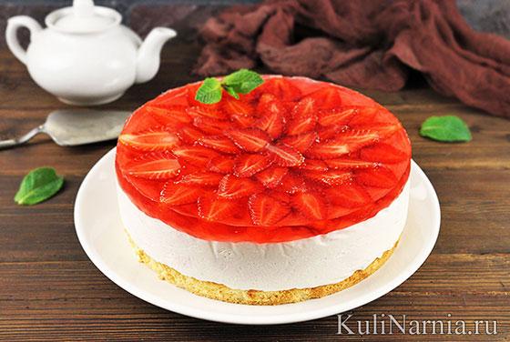 Рецепт творожно йогуртового торта