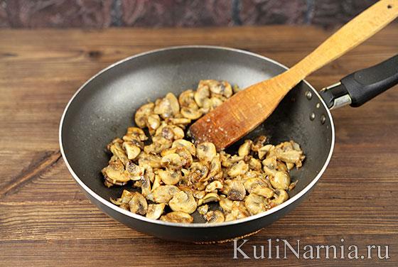 Картофельные оладьи с грибами рецепт