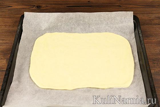 Пирог с колбасой рецепт