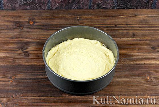 Тесто для пирога с клубникой