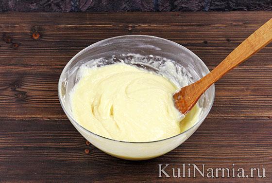 Заварное тесто для торта Карпатка