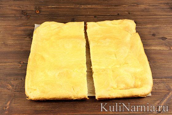 Заварной торт Карпатка рецепт
