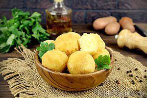 Картофельные крокеты с сыром