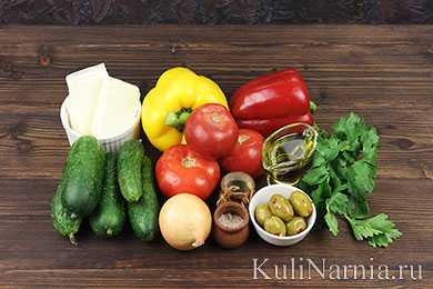Шопский салат рецепт