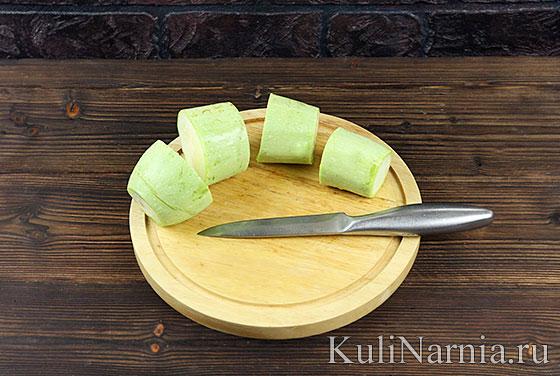 Фаршированные кабачки рецепт с фото