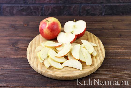 Как готовить тарт с яблоками