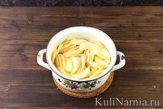 Как приготовить тарт с яблоками