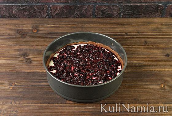 Как готовить пирог с черникой и творогом