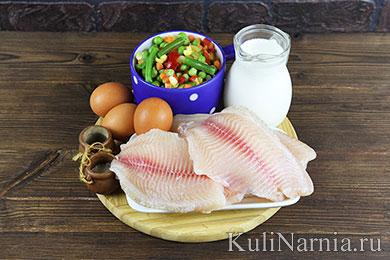 Рыбная запеканка рецепт