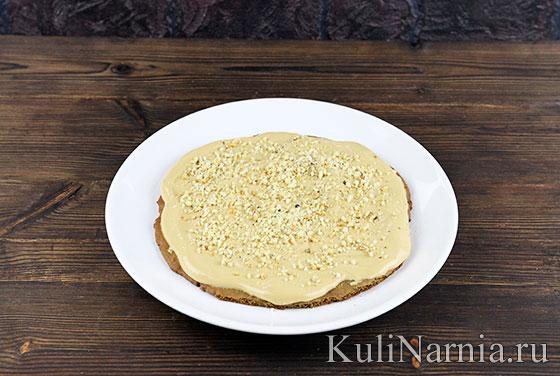 Торт Дамский каприз пошагово с фото