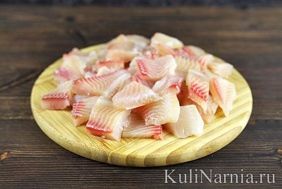 Запеканка с рыбой рецепт
