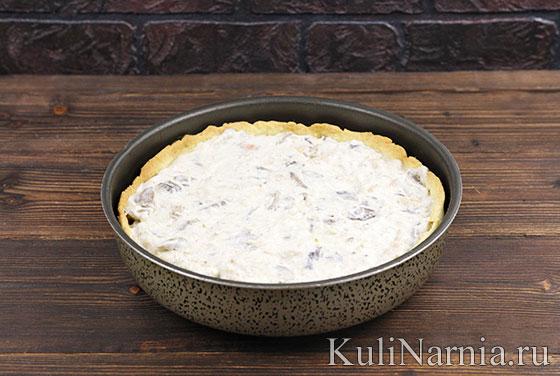 Как готовить пирог Жульен