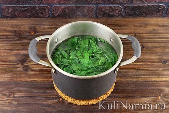 Как готовить рулет со шпинатом
