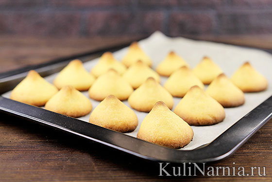 Печенье на вареных желтках