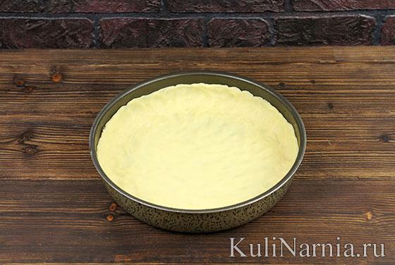 Пирог песочный с вишней рецепт