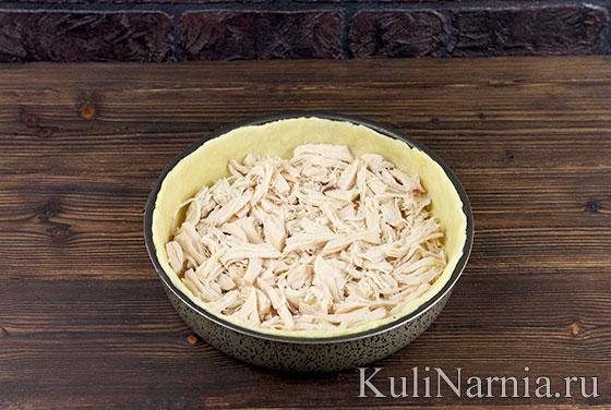 Рецепт пирога с курицей