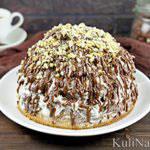 Торт «Графские развалины» со сметаной