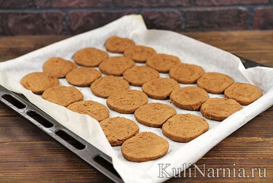 Как испечь шоколадное печенье