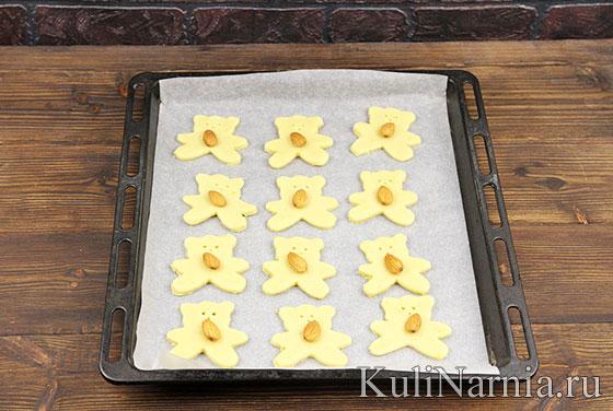 Как приготовить печенье Мишки