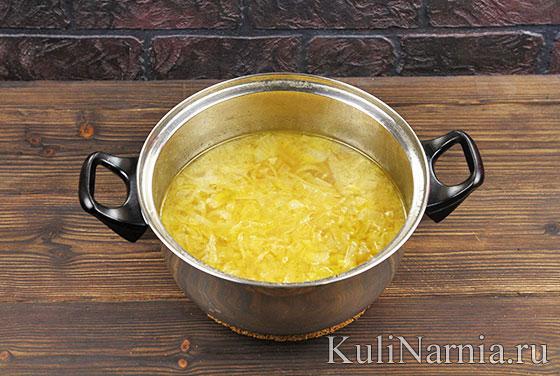 Луковый суп с фото