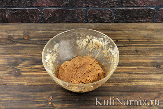 Рецепт шоколадного печенья с фото