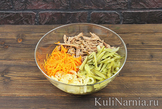 Как готовить салат Елочка