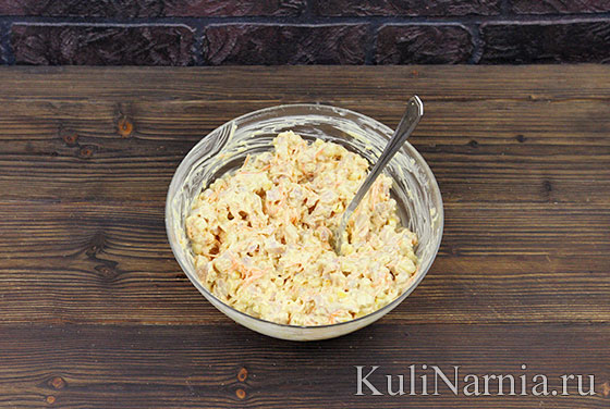 Как готовить салат Косточка